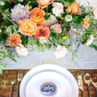 Organic Romance Fall Wedding Design Austin Wedding Venue The Milestone Austin Wedding Photographer Elizabeth Denny Photography