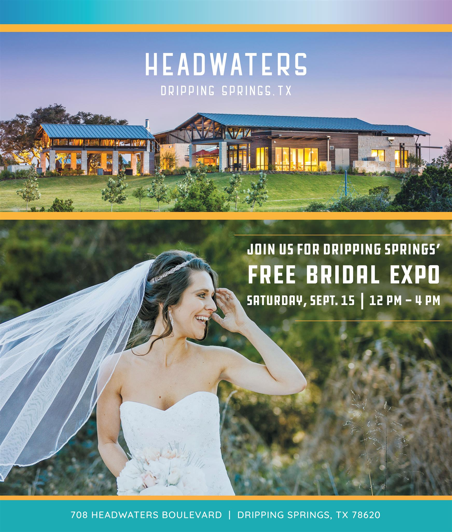 headwaters free bridal expo dripping springs