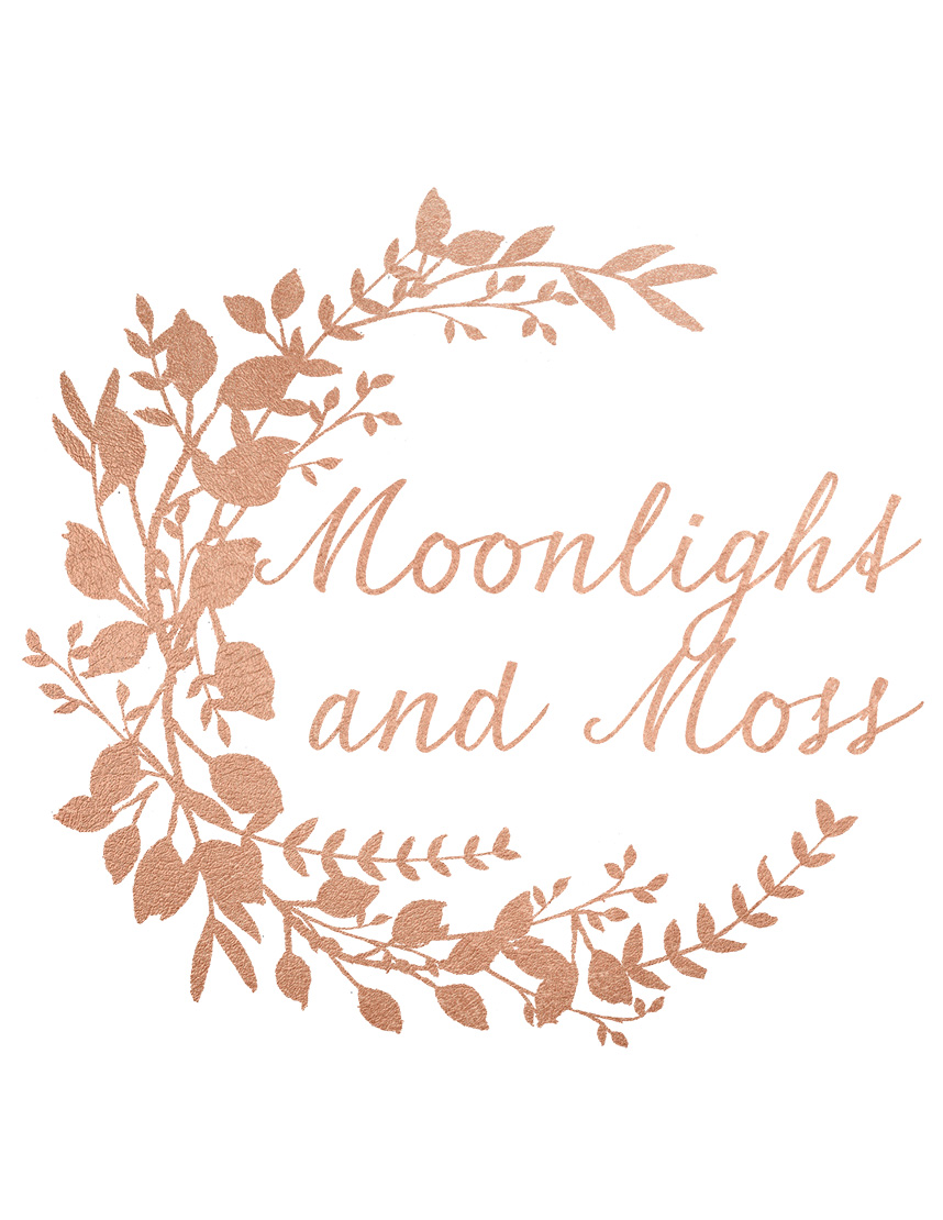Moonlight and Moss Custom Gowns Attire