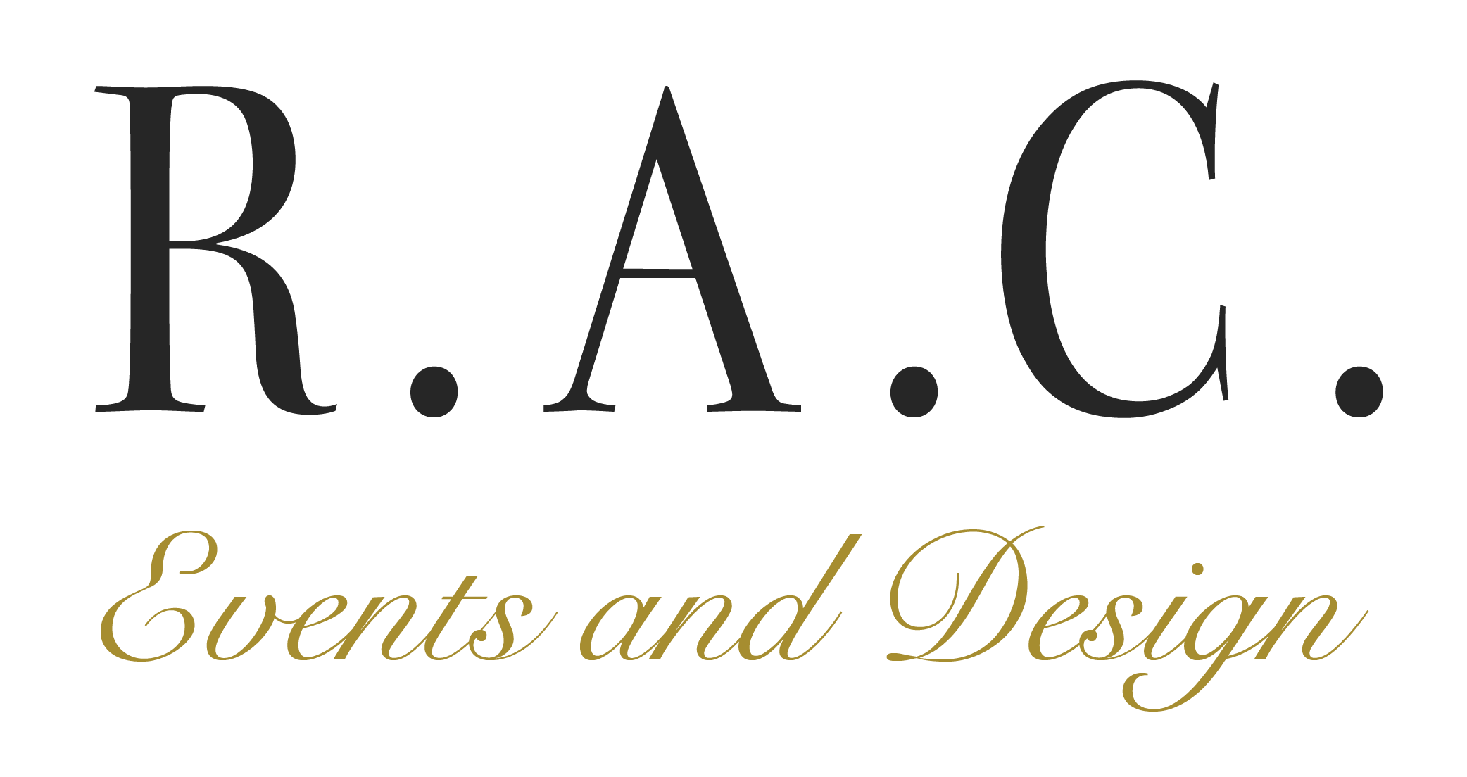 R.A.C. Events and Design Wedding Planner