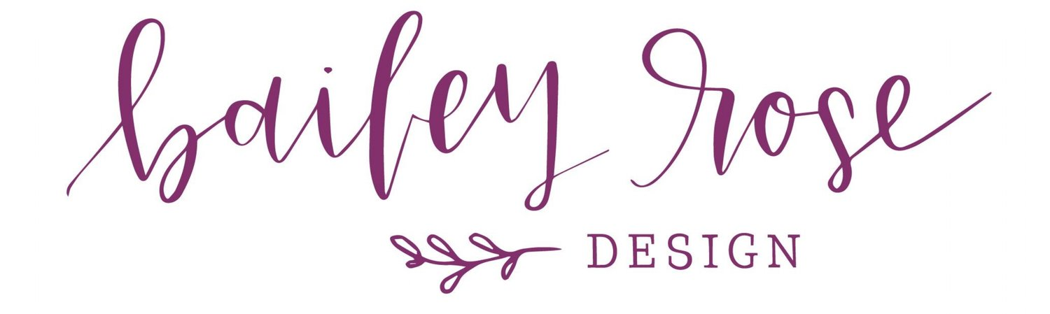 Bailey Rose Design Calligraphy, Invitations