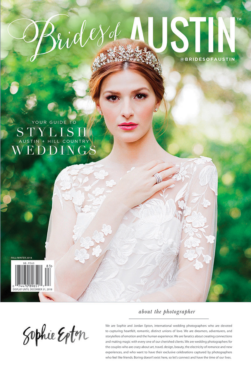 Brides of Austin Fall/Winter 2018 Cover