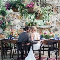 Mediterranean Style Wedding from Silver Thistle Weddings & Events