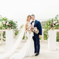 Dana Padgett Weds Daniel Meador Italian Inspired Al Fresco Wedding