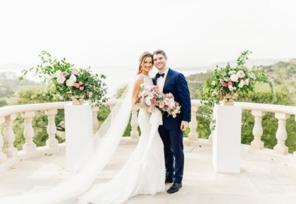 Dana Padgett Weds Daniel Meador Italian Inspired Al Fresco Wedding