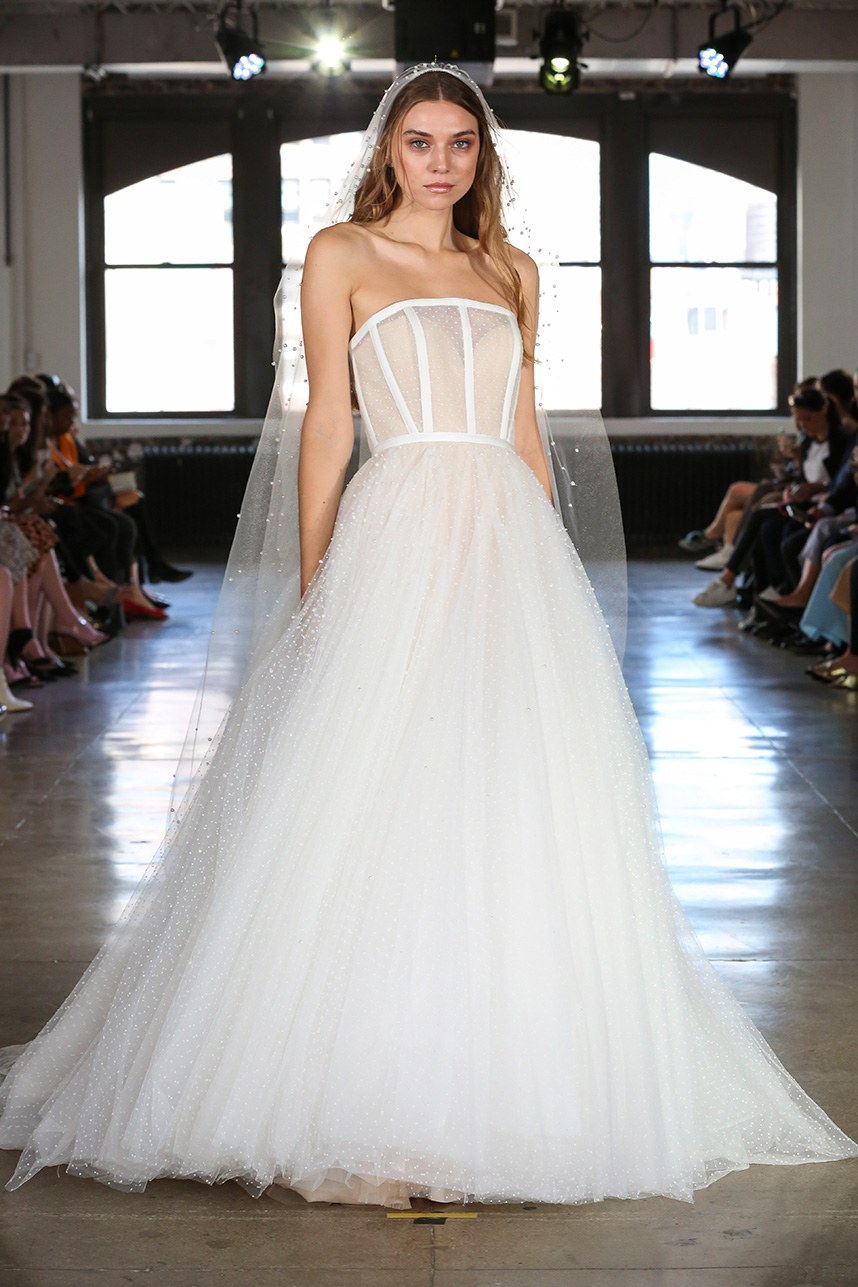 Hot Trends From New York Fallwinter 2019 Bridal Fashion Week