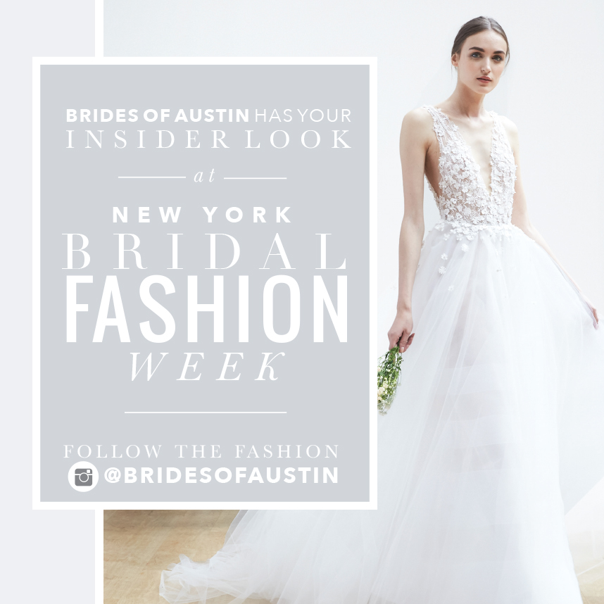 Hot Trends From New York Fall/Winter 2019 Bridal Fashion Week