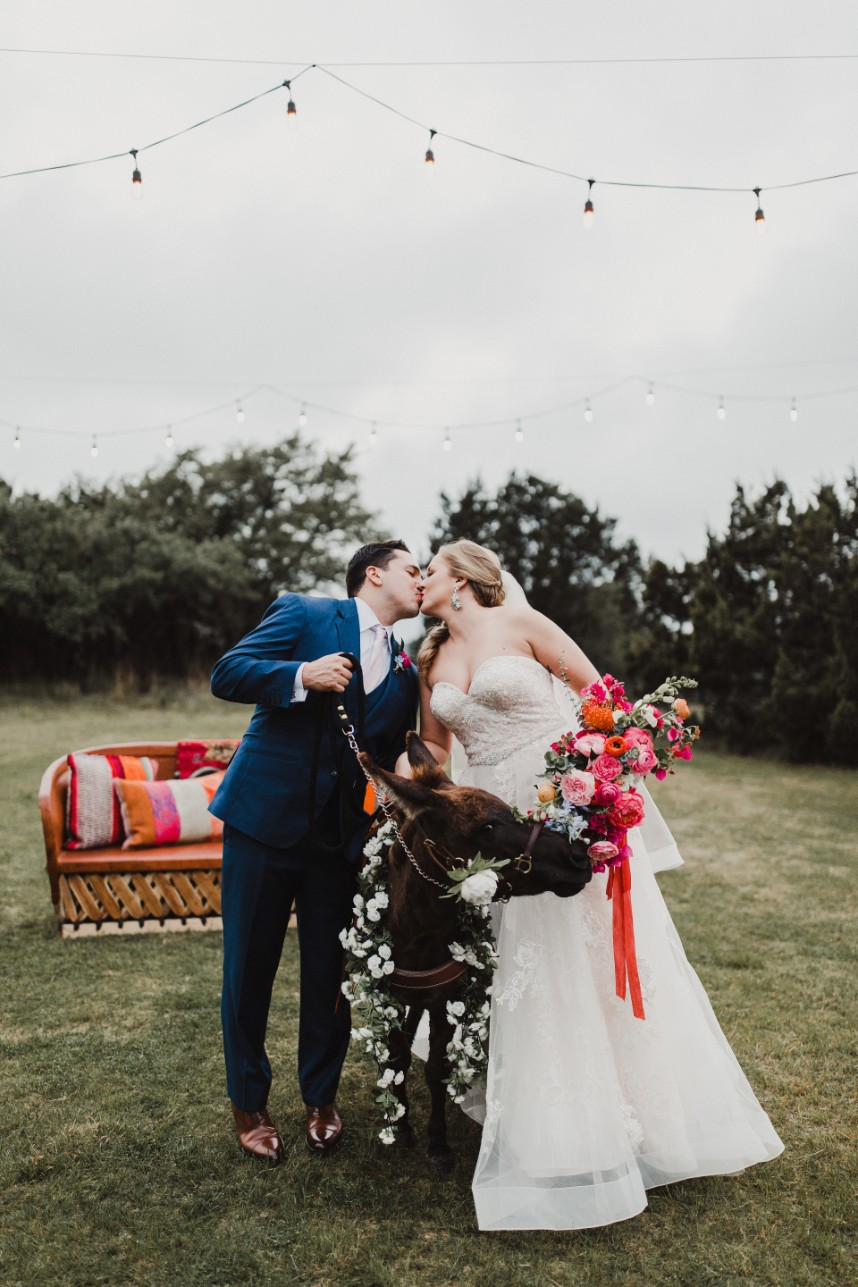 Dr. Rachel Bowman Weds Brian Houchin Vibrant Hill Country Wedding at The Terrace Club