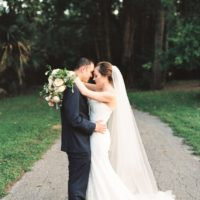 Rebecca Dillon Weds John Sarette Fall Garden Wedding from Olive + Belle Events