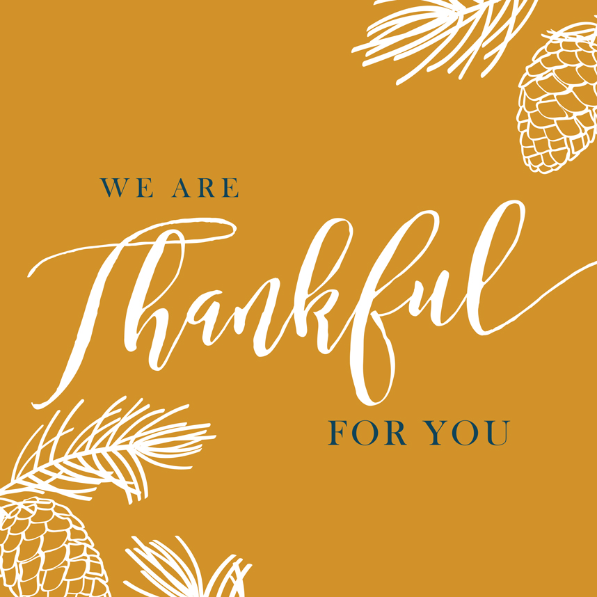 Happy Thanksgiving from Brides of Austin!
