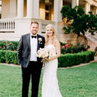 Victoria Shostak Weds Dustin Elegant Floral Filled Austin Wedding