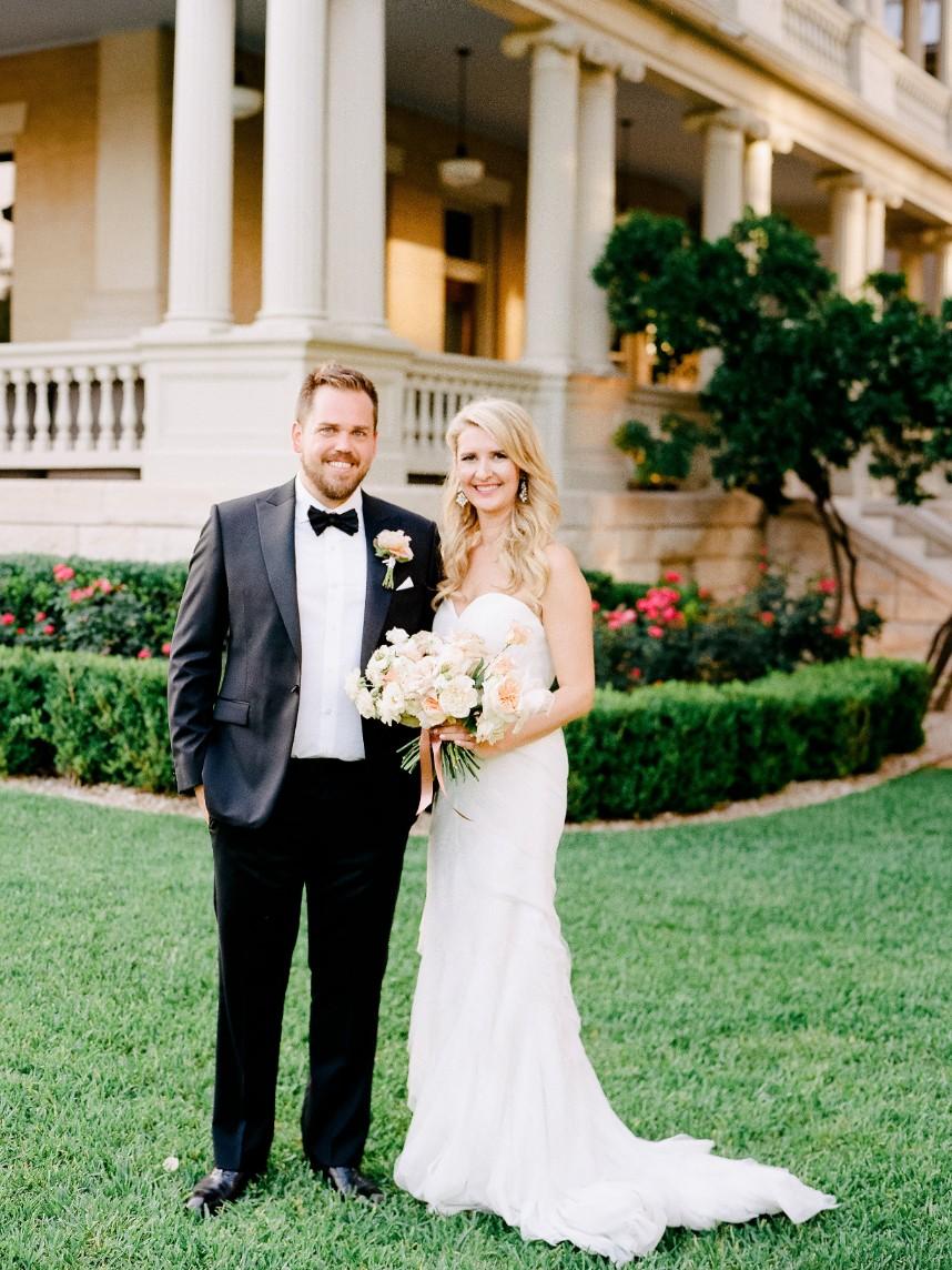 Victoria Shostak Weds Dustin Elegant Floral Filled Austin Wedding