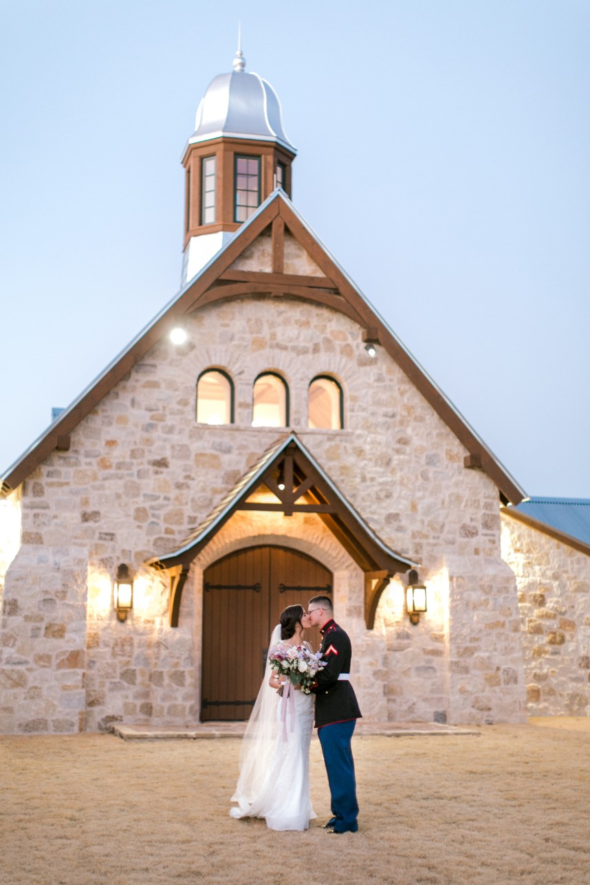 Madison Guess Weds Dylan McMurray Romantic Marine Wedding at Hidden River Ranch
