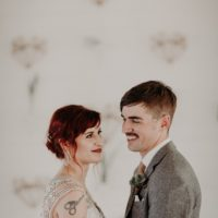 Laurene Connelly Weds Travis Gaskill Modern Minimalist Austin Wedding from Silver Thistle Weddings