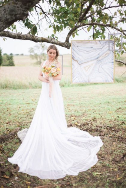 Contemporary Springtime Shoot Styled By Trademark Weddings