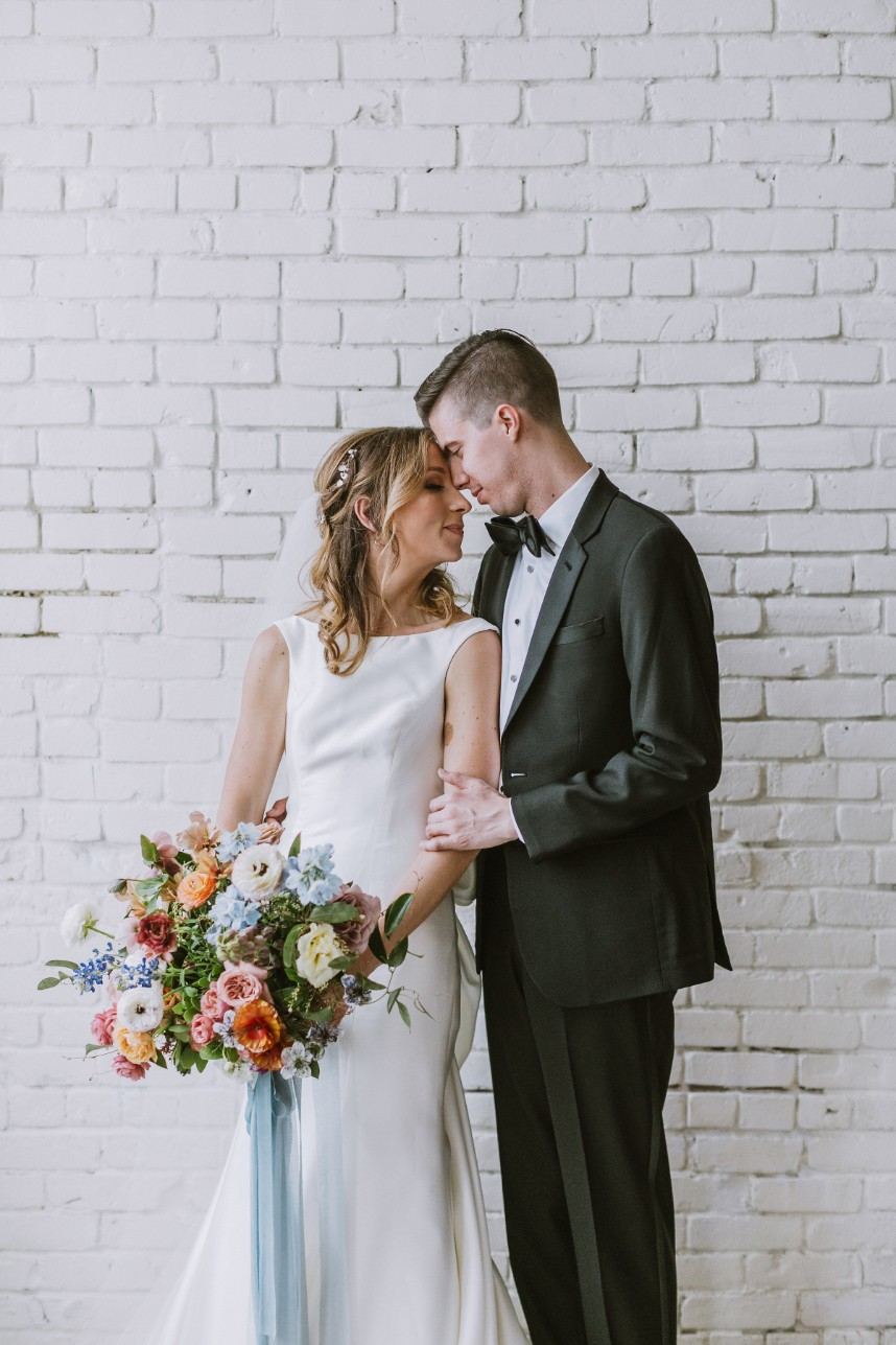 Kara Boldt Weds Matthew Armstrong Organic Austin Wedding with an Industrial Vibe from Bespoke Events