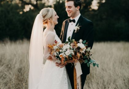 Megan Peerman Weds William Wilson Jr. Fall Austin Wedding at The Addison Grove from Westcott Weddings