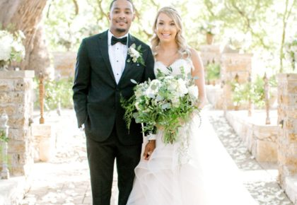 Katie Jacobson Weds Jarrius James Pastel Southern Wedding at Camp Lucy