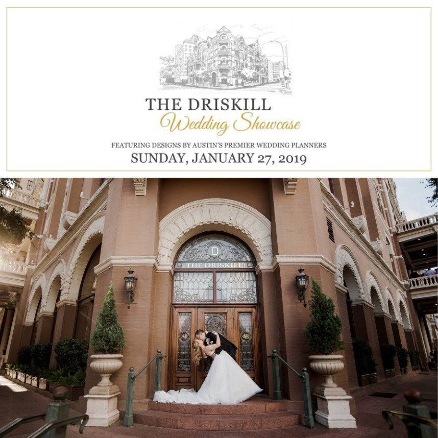 Join Us at The Driskill Wedding Showcase!