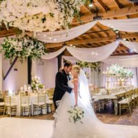 Erin Strasburger Weds Matthew LeDoux Romantic Floral Filled Brazos Hall Wedding
