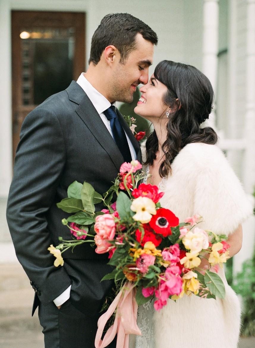 Gabriela Fajardo Weds Alejandro Guerra Festive Spanish Inspired Austin Wedding from Sophie Epton Photography