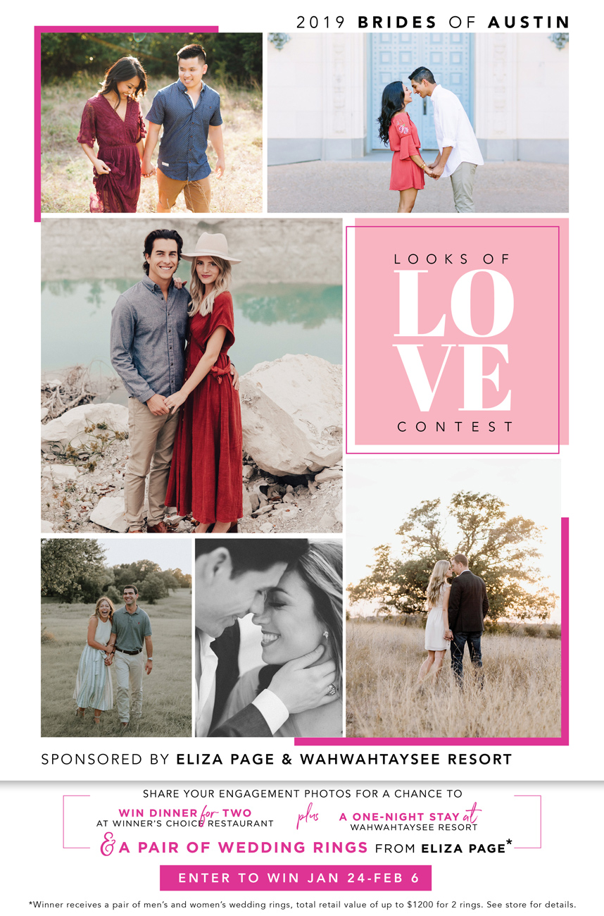 2018 Looks of Love Contest - Sponsored by Eliza Page + Wahwahtaysee Resort