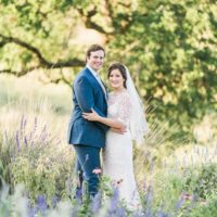 Miranda Barzilla Weds Aaron Henslin Spring Wildflower Inspired Wedding from Janeane Marie Photography
