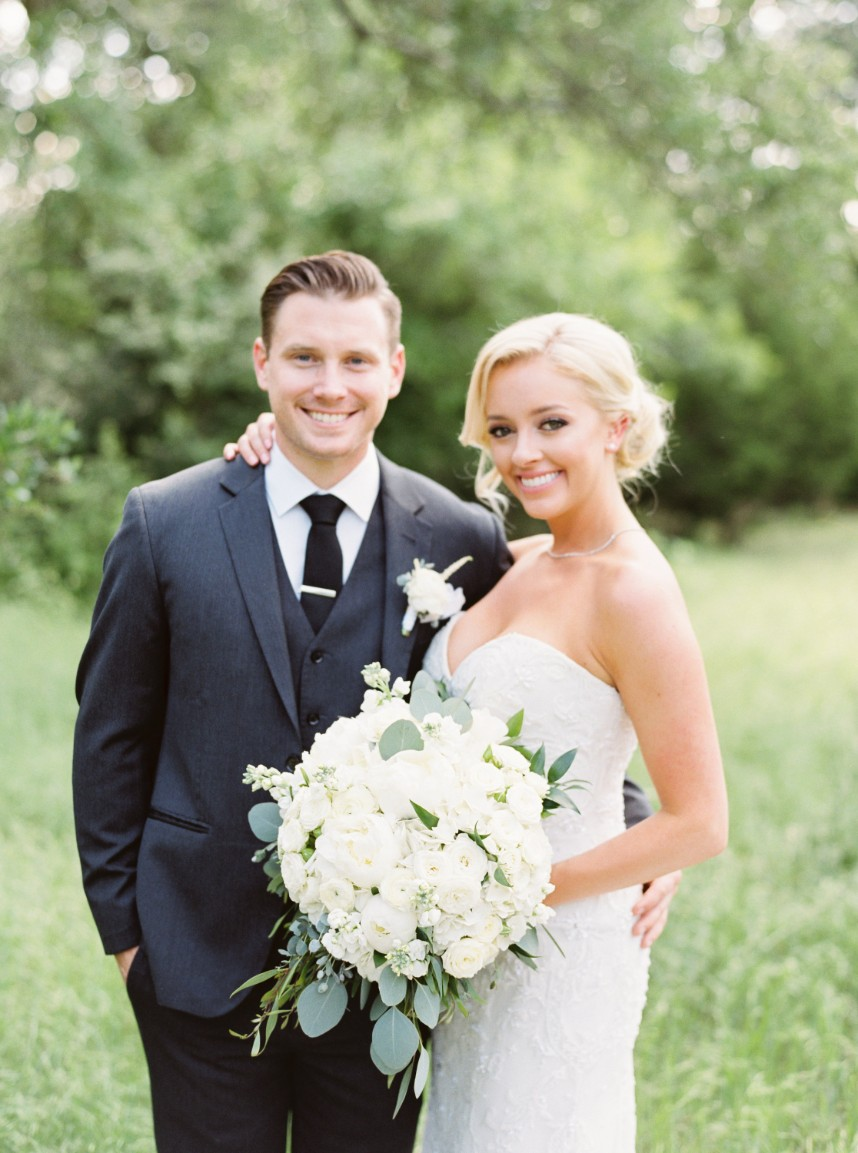 Chelsea Dunn Weds Parker Dunn Organic White Wedding at The Addison Grove from Mint Photography