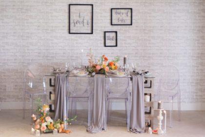 trademark weddings styled shoot