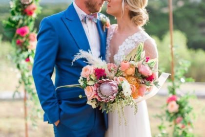 tropical bohemian elopement from eclipse event co
