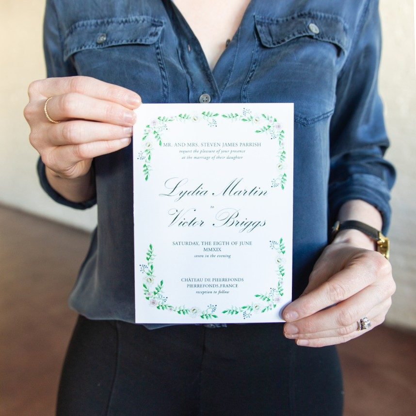 invitations from austin wedding invite designer grey meets gold