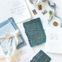 invitations from austin wedding invite designer grey meets gold