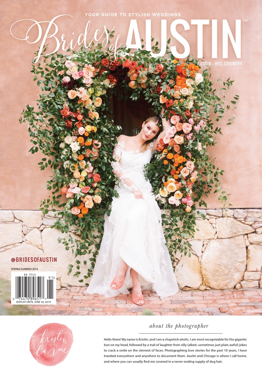 The Brides of Austin Spring/Summer 2019 Cover is Revealed!