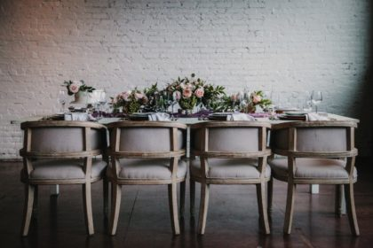 Mod Mauve Table Design Inspiration Austin Wedding Photographer K-Ruiz Photography Austin Wedding Planner Elsie Event Co.