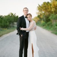 Brittany Patterson Weds Peter Kerr Ethereal Austin Wedding from Westcott Weddings