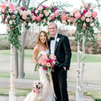 Elizabeth Lawrie Weds Joseph Rambin Lush Outdoor Hill Country Wedding from Pearl Events Austin