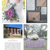 brides of austin magazine page