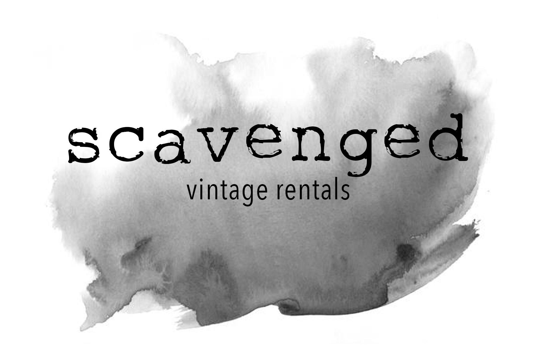 Scavenged Vintage Rentals Rentals