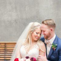 Elizabeth Smith Weds Tyler Martin Candlelit Industrial Wedding from Westcott Weddings