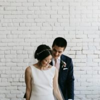 Yoonie Yang Weds Francis D'Hondt Modern Organic Austin Wedding from Olive + Belle Events