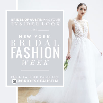 NY Bridal fashion week promo post