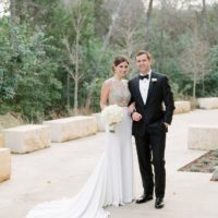 Jessica Flores Weds Luke Davis Elegant Ballroom Wedding from Pearl Events Austin