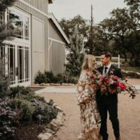 bold modern vintage wedding inspiration at the addison grove