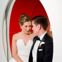 Rebekah Yurco Weds Dr. Taylor Maloney Modern Wedding at Austin Central Library
