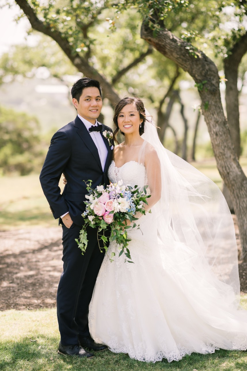 Stephanie Jiang Weds Tomson Kan Pastel Hill Country Wedding from The Bird and The Bear