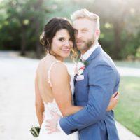 austin bride and groom