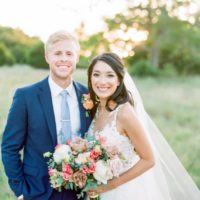 Ashley Guy Weds Clay Greenwalt Camp Lucy Summer Wedding from Eclipse Event Co.