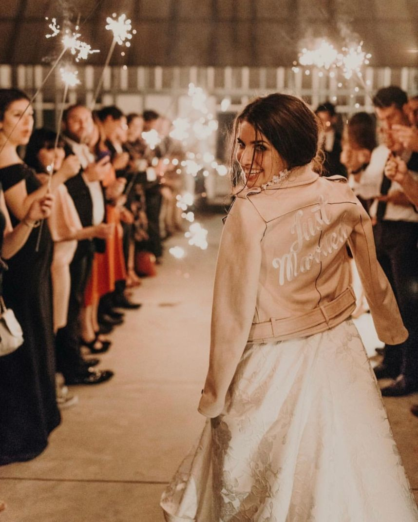 6 Ways to Make a Grand Exit on Your Wedding Day