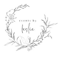 Events by Leslie Wedding Planner