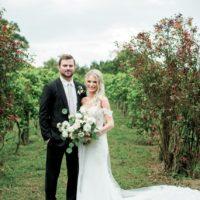 Ally Feezel Weds Eric Samouce Romantic Outdoor Vineyard Wedding Captured by Honey Gem Creative